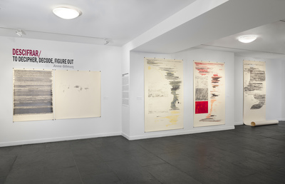 Solo Exhibition + Gallery Talk at Instituto Cervantes