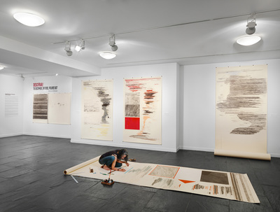 Drawing Onsite at Instituto Cervantes